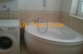 bathroom (bathtub, washing machine)